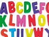 alphabet letters in 3d colour